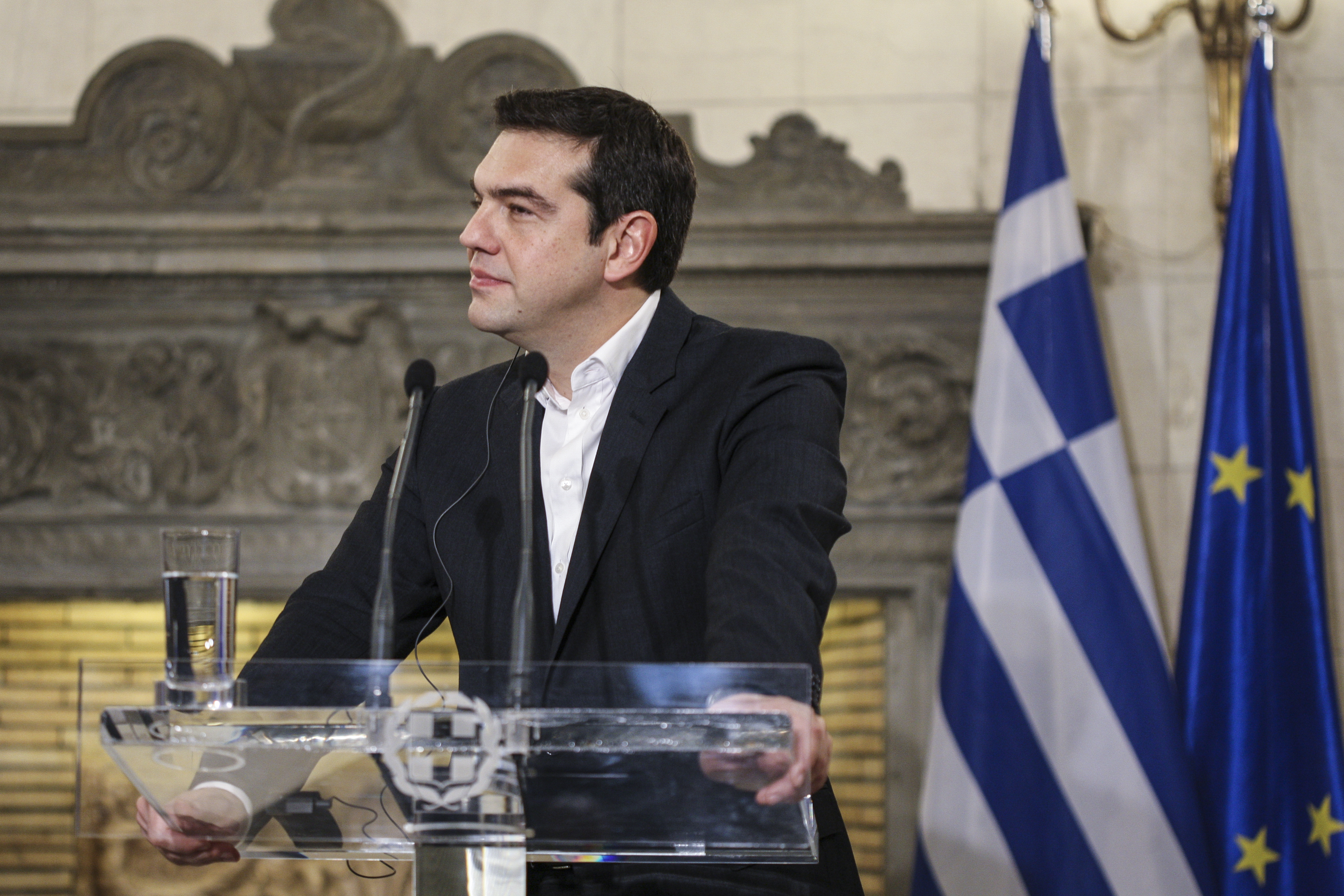 Tsipras: Not exactly an orphan in terms of international support.
