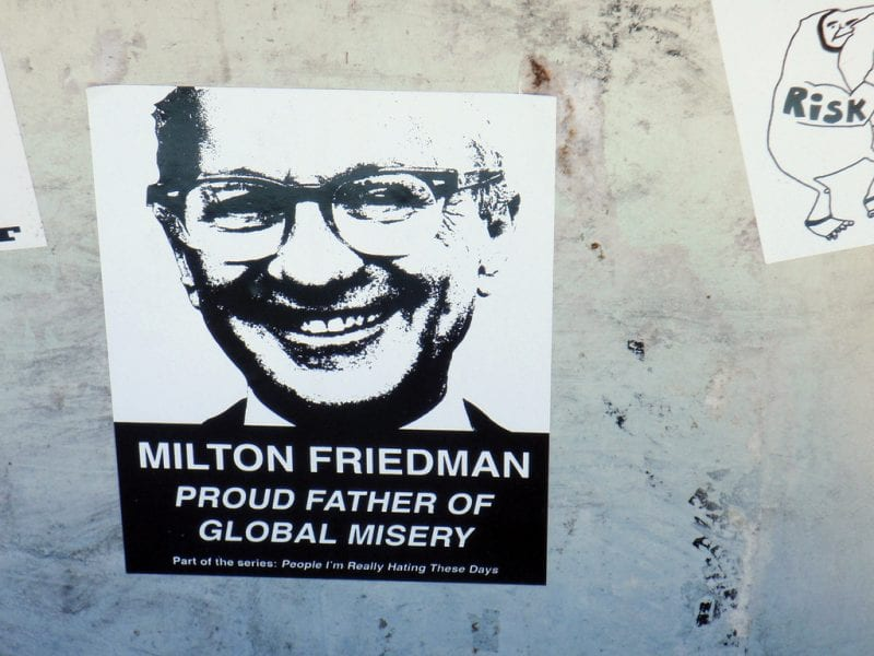 debates why is libertarianism wrong the greanville post miltonfriedman stencil poster d lobo flickr