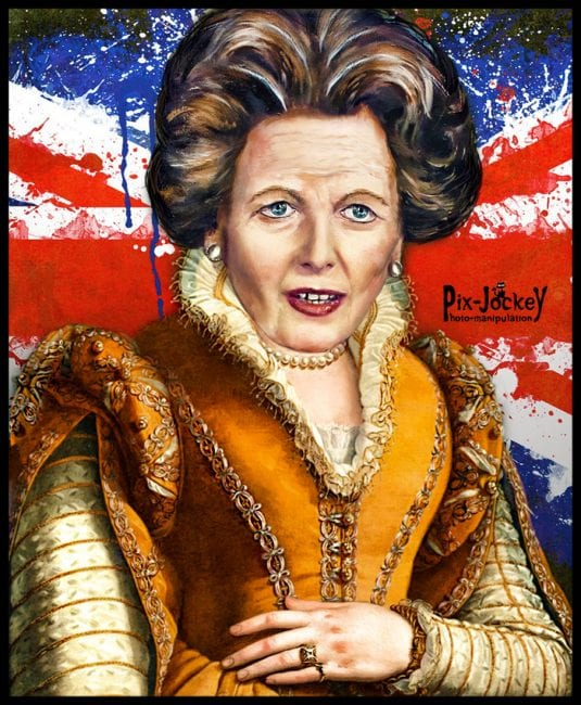 Margaret Thatcher—one of the 20th Century's most ruthless market enforcers. (R.Rizzato, via flickr)