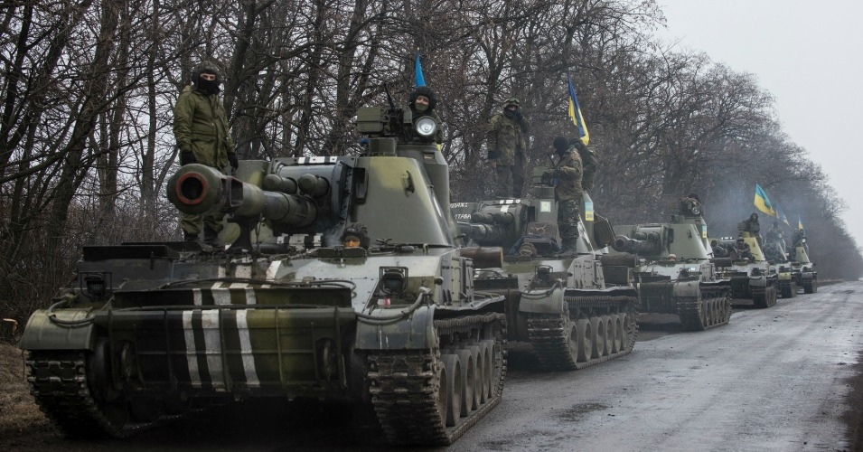Ukrainian tanks