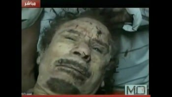 Gaddafi murdered by Washington-controlled jihadists. A mafia hit pure and simple, ordered by the biggest mafia outfit on earth.