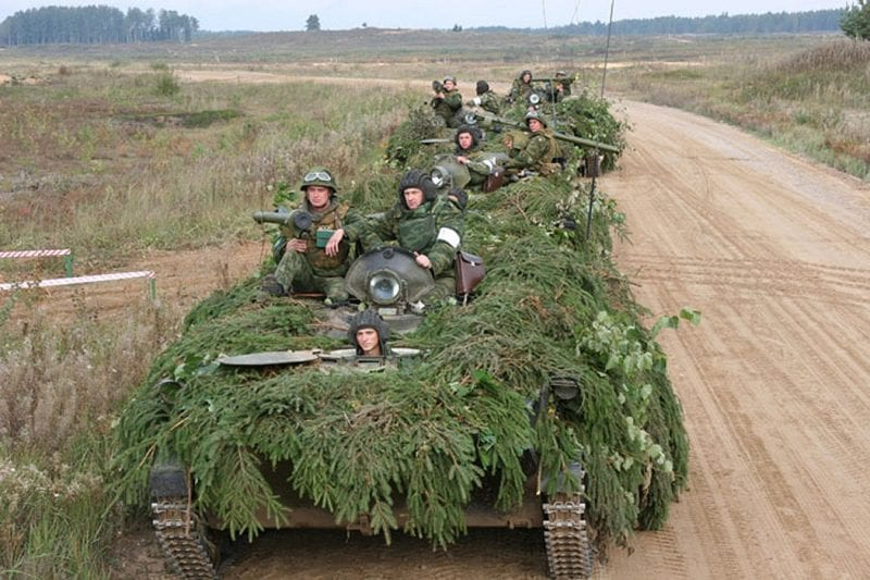 Russian Military Began To Exercise 21