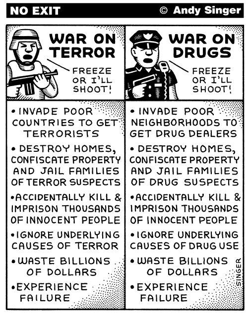 theres no justice in the war on drugs thesis