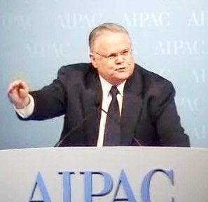 Hagee ingratiating himself to Zionists.
