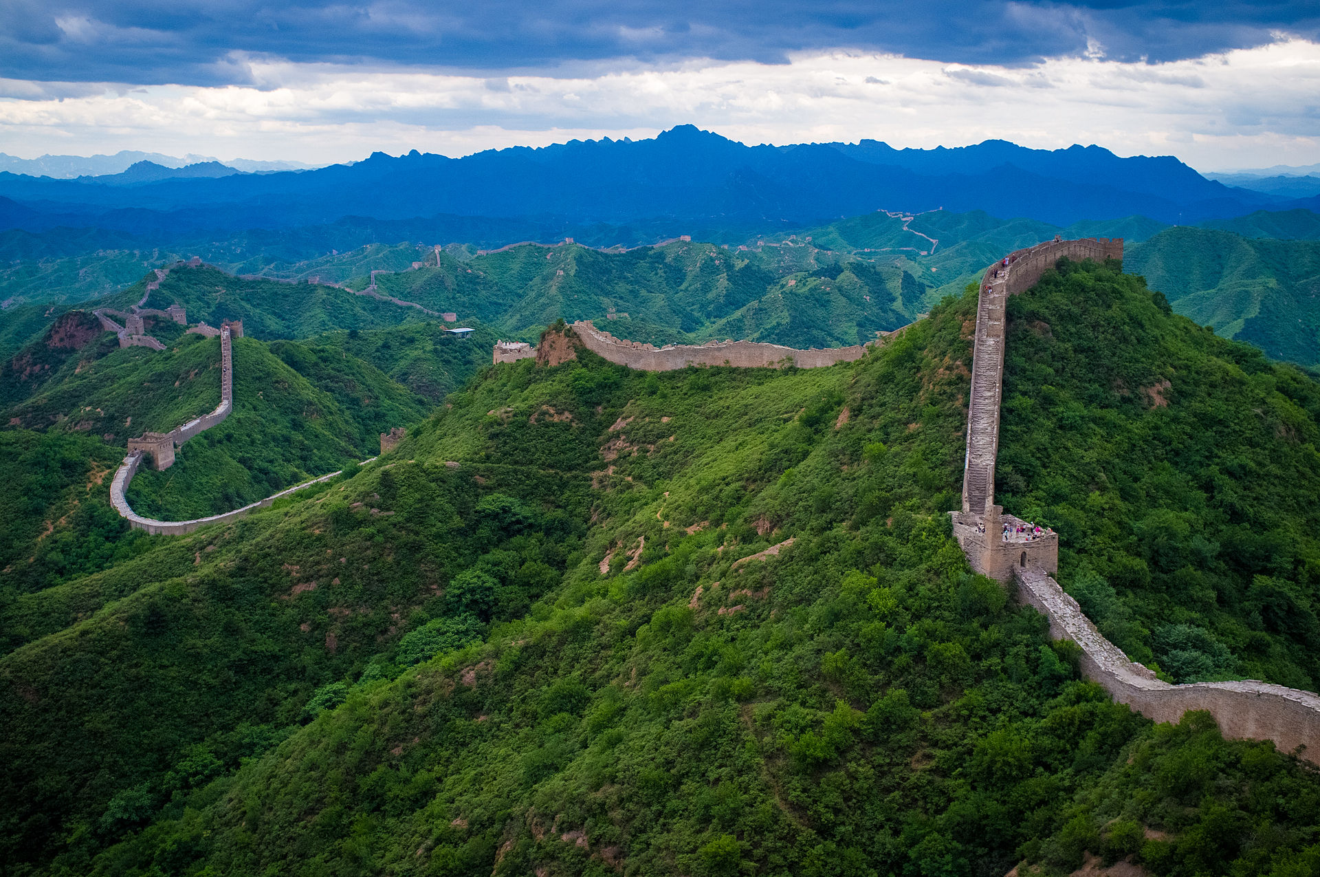 The Great Chinese Wall: still standing after 24 centuries, its original purpose now obsolete.