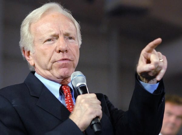 Joe Lieberman: A prominent chancre on the body politic.  Not surprising he'd help author a non-solution—cap-n-trade— to a grave issue.