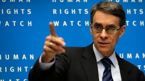 HRW's Kenneth-Roth. How much can a corporate suit do in the area of genuine human rights?