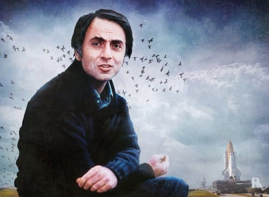 Carl Sagan sought to inspire reverence and awe of nature and the universe.