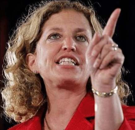 Image result for debbie wasserman schultz angry