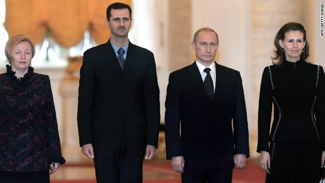 Pres. Assad in Moscow.