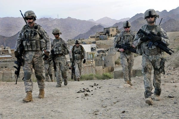 u s military presence in afghanistan If the administration follows the military's advice, it would mark the reversal of a years-long trend in afghanistan that has seen the us military's presence steadily decrease to about 8,400 troops from a peak of about 100,000 troops in 2010 and 2011.