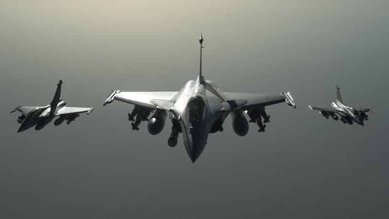 Fait accompli? French jets have carried out dozens of sorties on Raqqa, supposedly as retaliation for the Paris attacks, but France may be trying, along with the US, to federalize Syria.