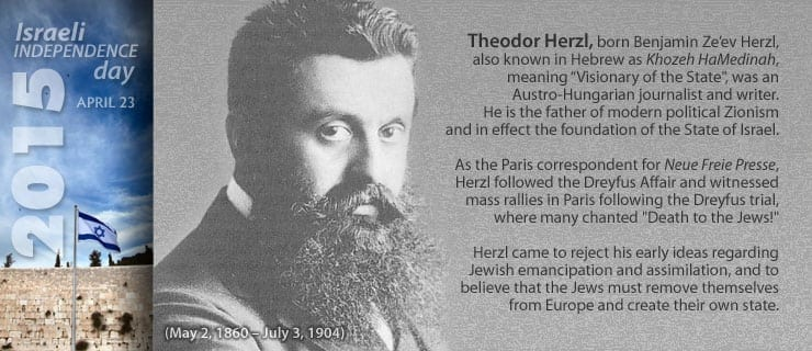 political zionism and theodor herzl influence essay View theodor herzl research papers on is credited for laying foundations of the political zionism the aim with france obtaining a sphere of influence.