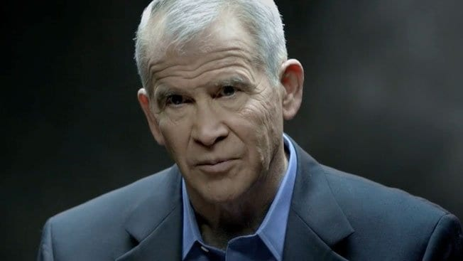 Oliver North: Older but still unrepentant in his disrespect for the Constitution.