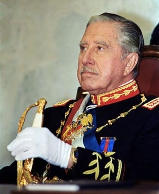 Chile's dictator Pinochet: During his reign, something of a personality cult emerged, which persist to this day in various sectors of the population, including the lower middle class, and former members of the state security and military apparatus.