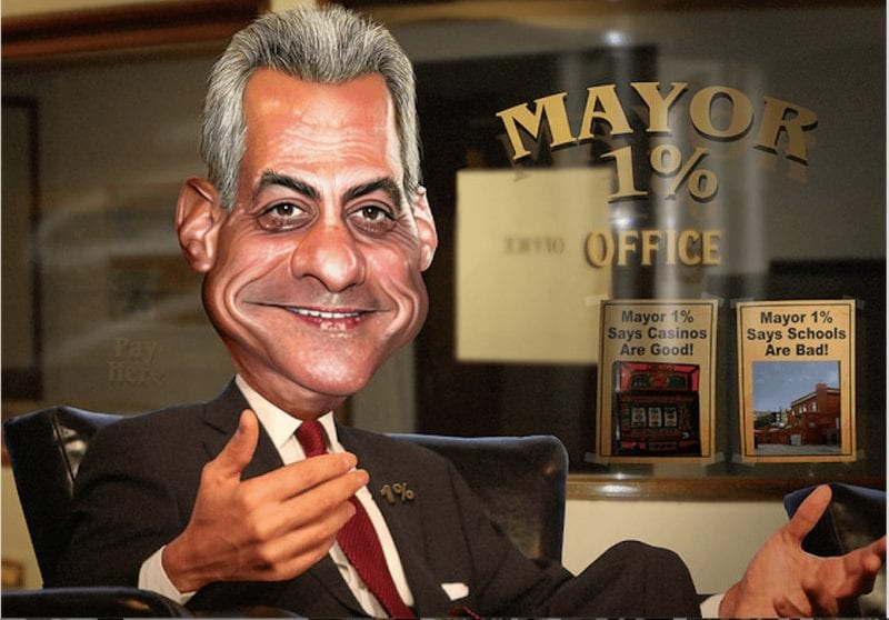 Emanuel: Given his roots in Israel, he could be a mayor of Jerusalem, too.