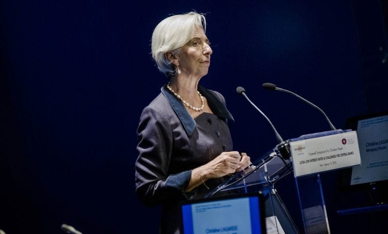 REPORTS BLOOMBERG: IMF Managing Director Christine Lagarde plans to meet with Greek Prime Minister Alexis Tsipras next week to discuss the nation's bailout package, according to a person familiar with the matter.
