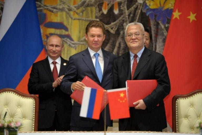 Russia and China sign $400 billion gas deal (2014). By Kremlin.ru. (CC By 4.0)
