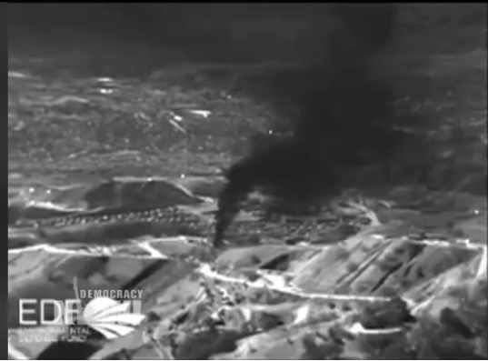 infrared picture of SoCal methane leak