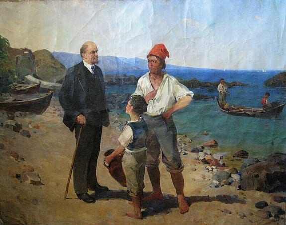lenin-a-capri-painted