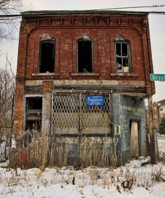 Ruins of Detroit by ThunderKiss Photography. (CC BY-NC-ND 2.0)