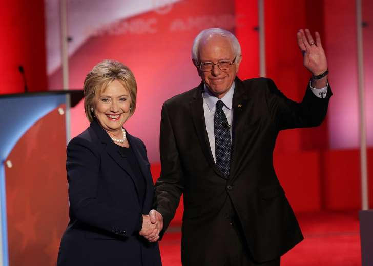 """As expected Hillary has been poo-pooing Sanders talk about """"Medicare for All""""."""