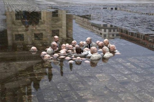 politicians discussing global warming.Cordal