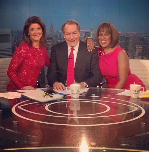 The CBS This Morning trio—Charlie Rose, Nora O'Donnell and Gayle King —typify the bankruptcy of the US media, all fluff and glam covering an enormous degree of ignorance and propaganda.