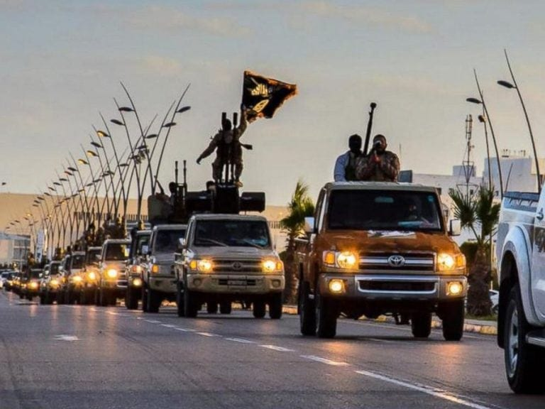 ISIS and their Toyotas. Who got them? Where's the dealership?