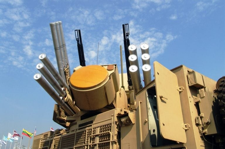 Russia is using advanced weapons like Pantsir-S1, a combined short to medium range surface-to-air missile and anti-aircraft artillery weapon system and represents the latest air defence technology via phased array radars for both target acquisition and tracking.