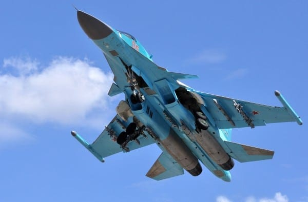 russian-air-force-su-34