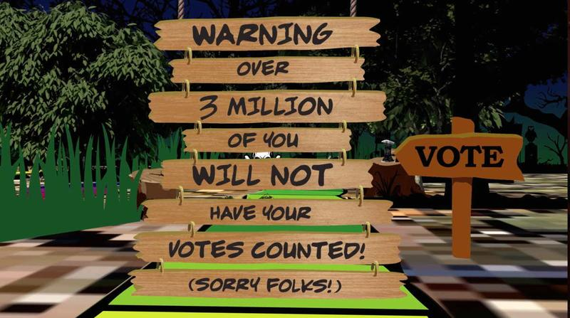 Blocked from Voting by Greg Palast