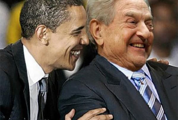 Soros and Obama. Obama specializes in sucking up to the powerful, that's his mission in life, the signature of his entitre career.Nuova Resistenza