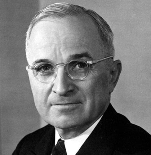 An eager anticommunist, Missourian Harry Truman was one of the first amoral scoundrels in the White House to plunge the world into an unnecessary global conflict.