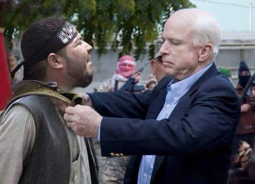 "McCain was the cheerleader for utilizing ""moderate"" militants to fight in Syria (Halifax Media Co-Op)."