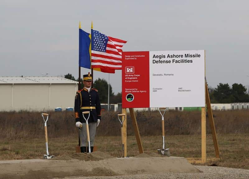 US, NATO, Romanian partners break ground on missile defense comp