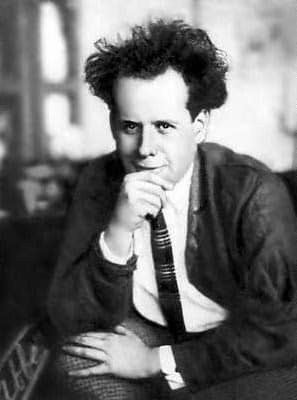 Film artists and intellectuals congregated around Eisenstein, lured by the promise of the budding Soviet film industry. (Shown: S. Eisenstein in his youth. )