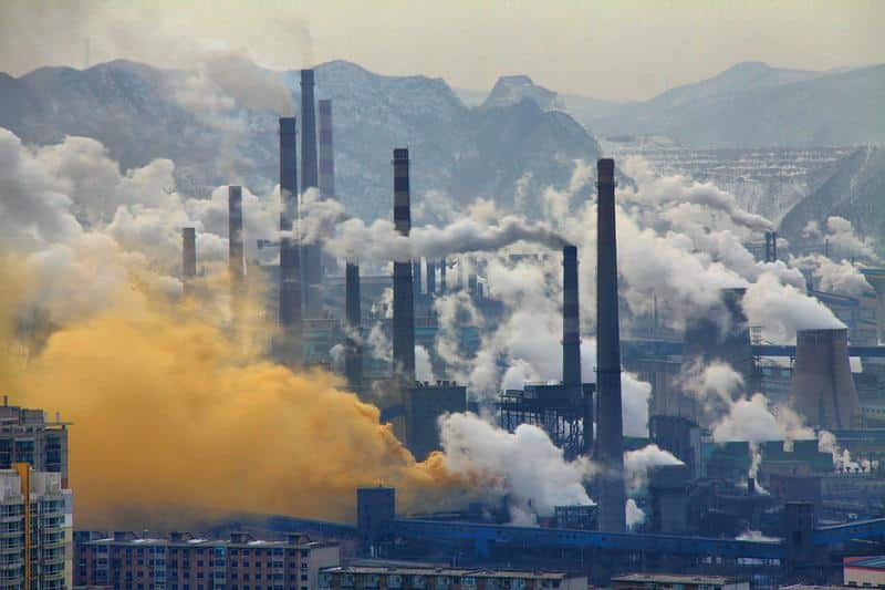 industrialpollution, steel