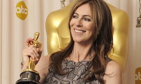 Kathryn Bigelow basking in the spotlight secured by shilling for the imperialist state.