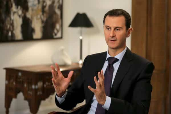 syria-Assad-seated