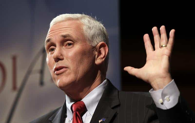 Mike Pence: Rightfully at the top of the stinking heap of manure that passes  for a political system in America.