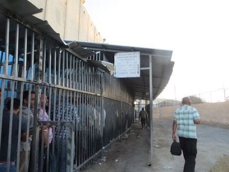Israel checkpoints