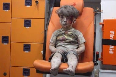 The 'Wounded Boy In Orange Seat