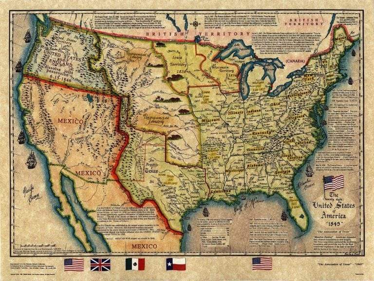 Us Maps History Globalinterco - Us brown map with states