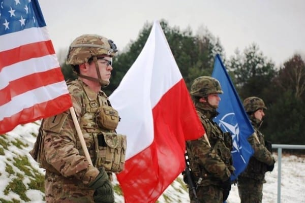 Poland's embrace by NATO is a malignant Faustian pact liable to make it the first nuclear battlefield in European history.