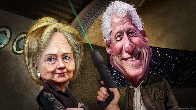 The Clintons: way above the 1%, seriously.