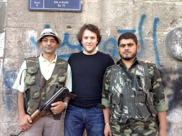 neocon-michael-weiss-with-jihadists1