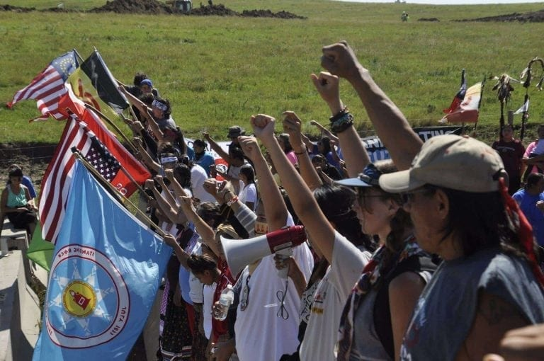 Image result for standing rock protest military vets