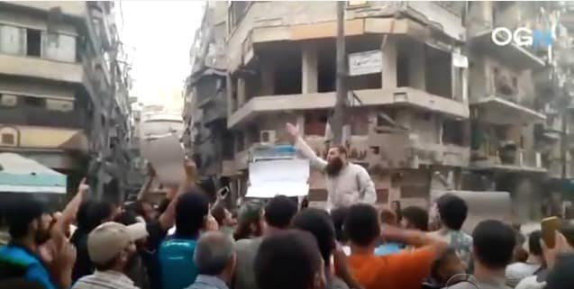 "Aleppo's ""rebels""—an aggrieved innocent party according to CBS."
