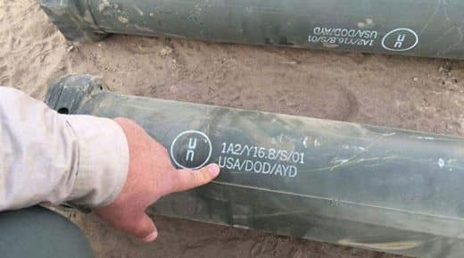 US Missiles in Mosul